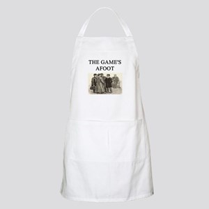 sherlok holmes gifts t-shirts Apron