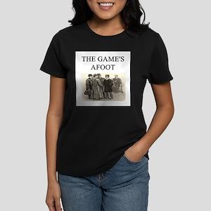 sherlok holmes gifts t-shirts Women's Dark T-Shirt