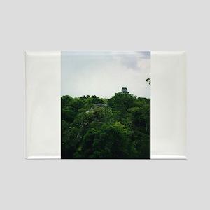 Tikal Skyscape Rectangle Magnet