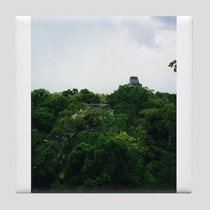 Tikal Skyscape Tile Coaster