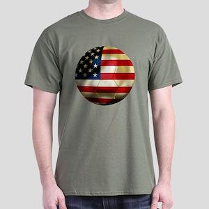 USA Soccer Dark T-Shirt