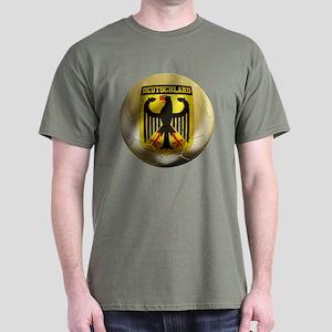 Deutschland Football Dark T-Shirt