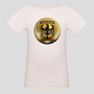 Deutschland Football Organic Baby T-Shirt