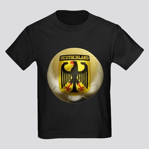 Deutschland Football Kids Dark T-Shirt