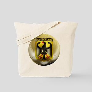 Deutschland Football Tote Bag