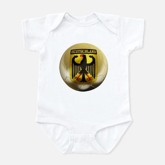 Deutschland Football Infant Bodysuit
