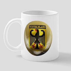 Deutschland Football Mug
