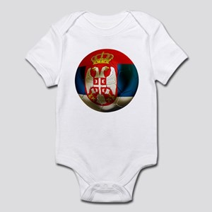 Serbia Football Infant Bodysuit
