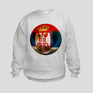 Serbia Football Kids Sweatshirt