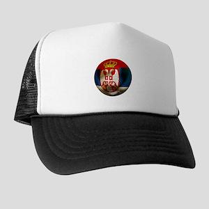 Serbia Football Trucker Hat