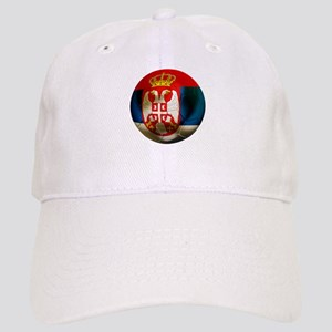 Serbia Football Cap