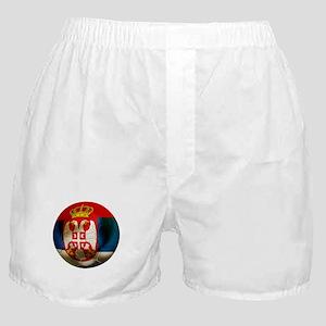 Serbia Football Boxer Shorts