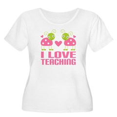 Ladybug I Love Teaching T-Shirt