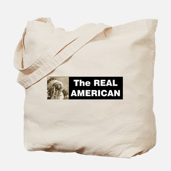 The REAL American Tote Bag