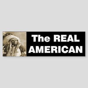 The REAL American Sticker (Bumper)