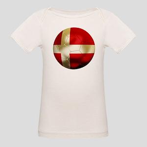 Denmark Football Organic Baby T-Shirt