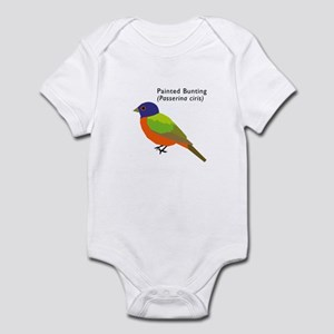painted bunting Infant Bodysuit