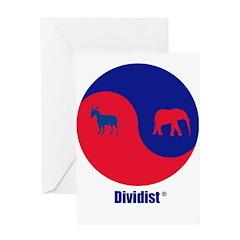 Dividist Greeting Card