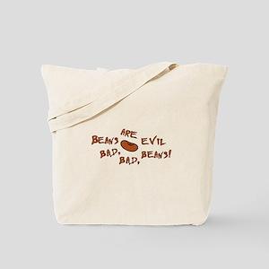 Evil Beans Tote Bag