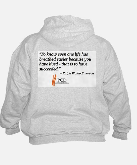Cute Emerson quotes Hoodie