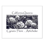 California Artichokes Small Poster