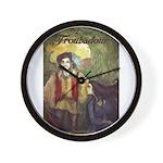 Last Troubadour 2 Wall Clock