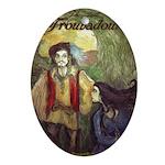 Last Troubadour 2 Ornament (Oval)