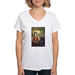 Last Troubadour 2 Women's V-Neck T-Shirt