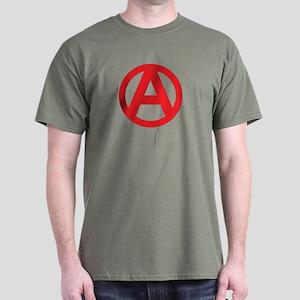 Anarchy Simple Symbol Dark T-Shirt