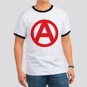 Anarchy Simple Symbol Ringer T
