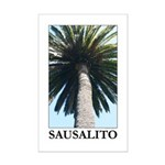 gifts! Sausalito palm trees Mini Poster Print