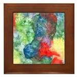 Breach of Containment Art Framed Tile