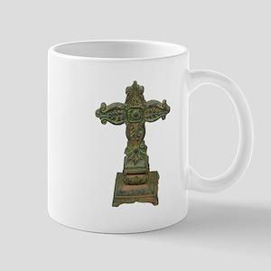 Antique Cross Mug