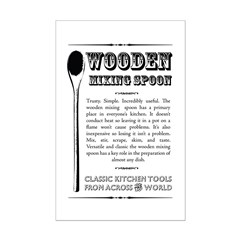 Wooden Mixing Spoon Posters