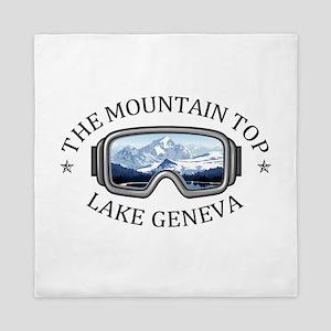 The Mountain Top at Grand Geneva Resor Queen Duvet