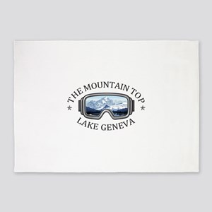 The Mountain Top at Grand Geneva Re 5'x7'Area Rug