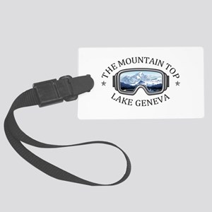 The Mountain Top at Grand Geneva Large Luggage Tag