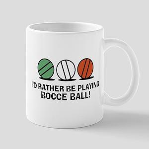 Funny Bocce Mug