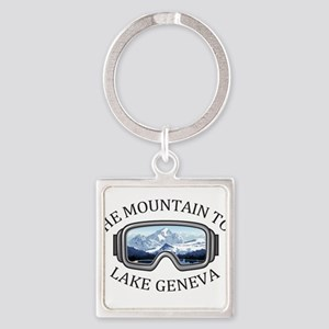 The Mountain Top at Grand Geneva Resort Keychains