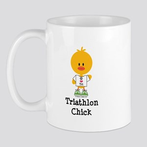 Triathlon Chick Mug