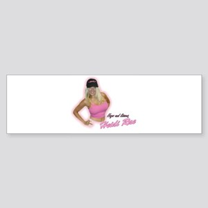 HeidiRae Hat Sticker (Bumper)
