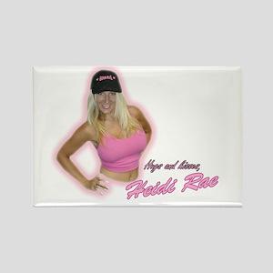 HeidiRae Hat Rectangle Magnet