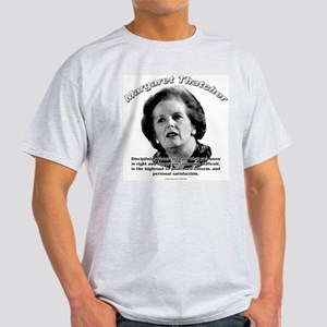 Margaret Thatcher 01 Ash Grey T-Shirt