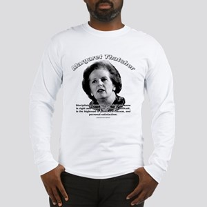 Margaret Thatcher 01 Long Sleeve T-Shirt