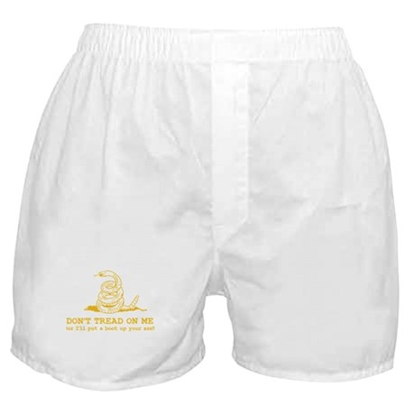 Don't Tread on Me or... Boxer Shorts