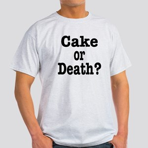 Cake or Death Black Light T-Shirt