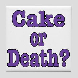 Cake Please Tile Coaster
