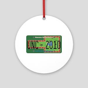 NC Mini Golf Ornament (Round)