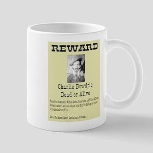 Charlie Bowdry Wanted Mug