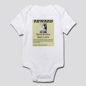 Charlie Bowdry Wanted Infant Bodysuit